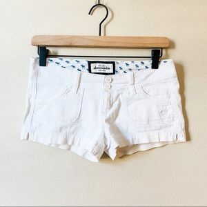 Abercrombie | kids white short short